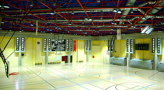 Sports Center Lighting Project